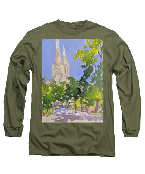 Cathedral Long Sleeve T-Shirt by Rodger Ellingson