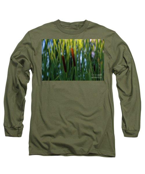 Cattails  Long Sleeve T-Shirt