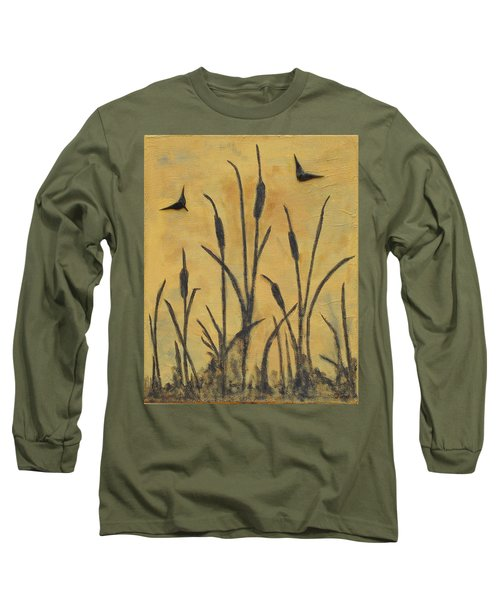Cattails I Long Sleeve T-Shirt
