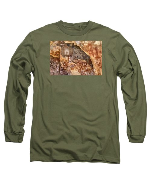 Cave Of The Hands Patagonia Argentina Long Sleeve T-Shirt