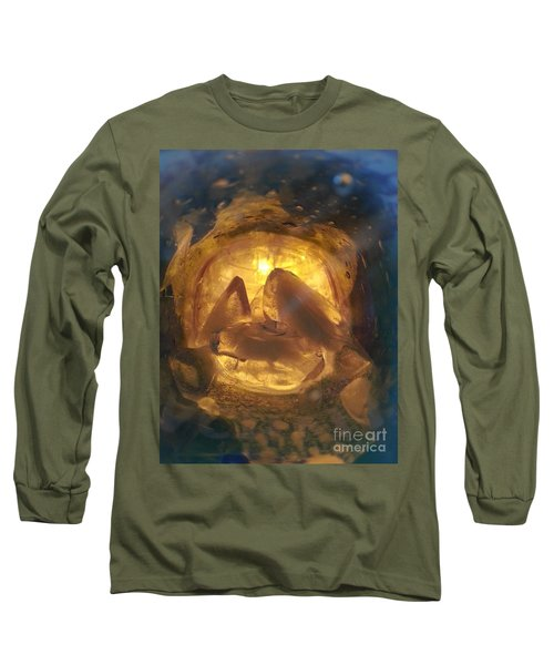 Long Sleeve T-Shirt featuring the photograph Cavern Light by Steed Edwards