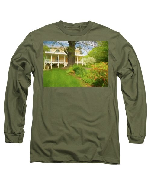 Cedar Grove In Spring Long Sleeve T-Shirt