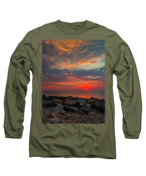 Cedar Point Sunrise Long Sleeve T-Shirt