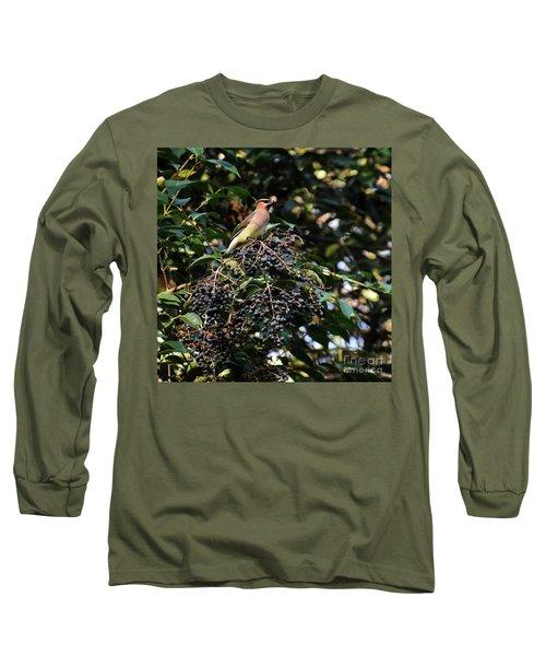 Cedar Wax Wing Long Sleeve T-Shirt