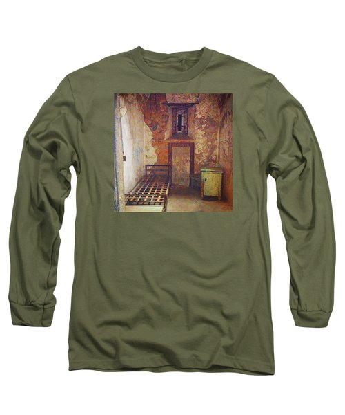 Cell At Eastern State Penitentiary Long Sleeve T-Shirt