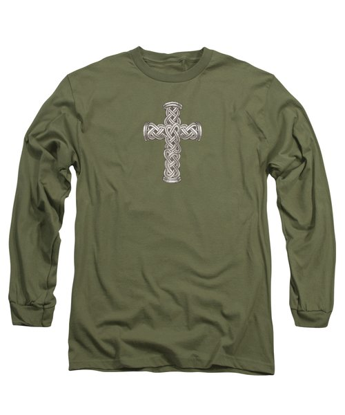 Celtic Cross B997 Long Sleeve T-Shirt