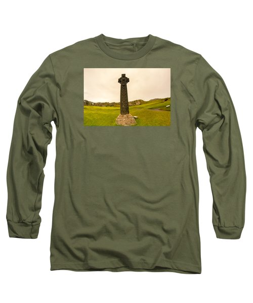 Celtic Cross, Isle Of Iona Long Sleeve T-Shirt