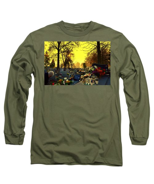 Cemetery In Feast Of The Dead Long Sleeve T-Shirt