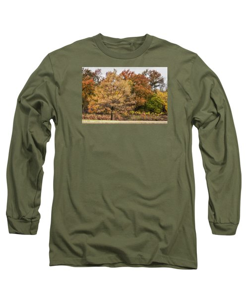 Long Sleeve T-Shirt featuring the photograph Center Of Attention by Joan Bertucci