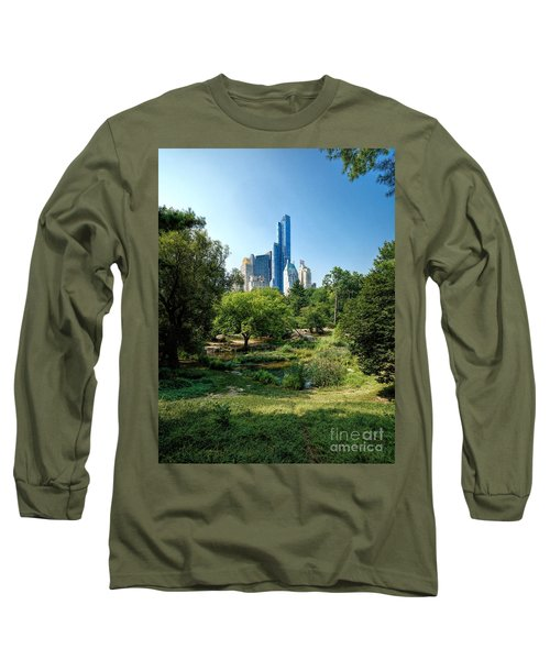 Central Park Ny Long Sleeve T-Shirt