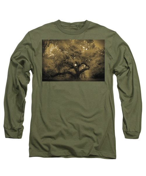 Centurion Oak Long Sleeve T-Shirt by DigiArt Diaries by Vicky B Fuller