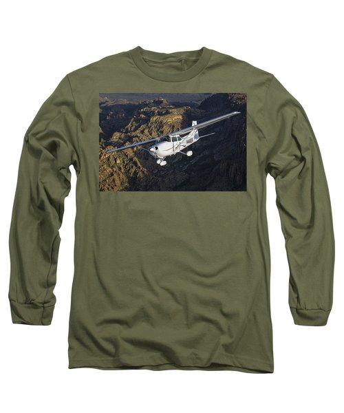 Cessna 172m Long Sleeve T-Shirt