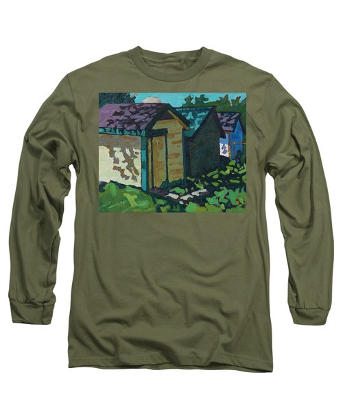 Chaffey Boat Houses Long Sleeve T-Shirt