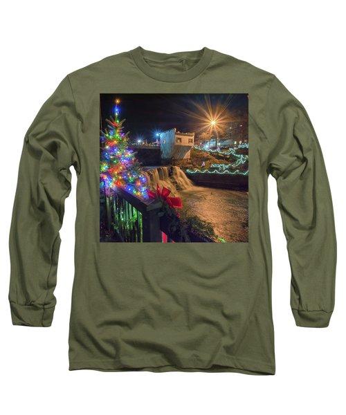 Chagrin Falls At Christmas Long Sleeve T-Shirt