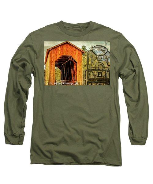 Chambers Railroad Bridge Long Sleeve T-Shirt