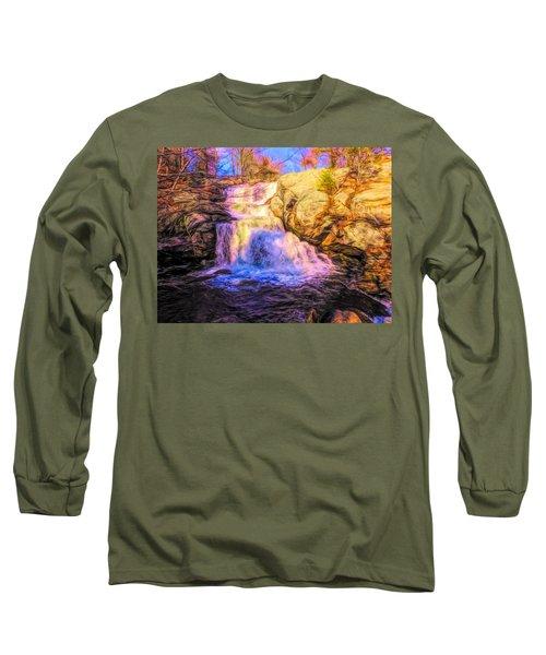 Chapman Falls Connecticut Long Sleeve T-Shirt