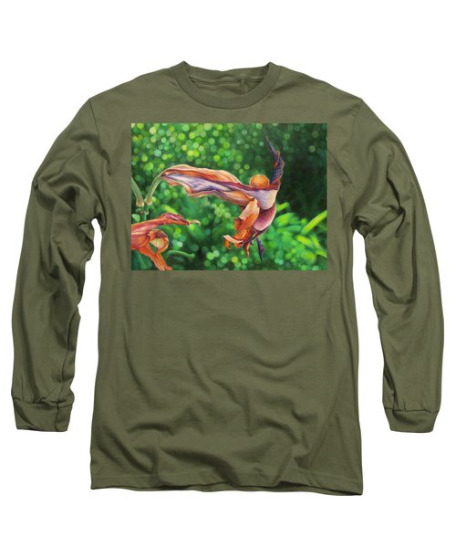 Character Lines Long Sleeve T-Shirt