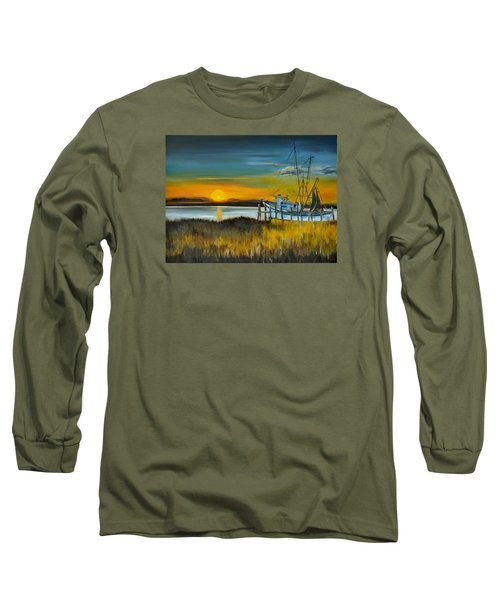 Charleston Low Country Long Sleeve T-Shirt by Lindsay Frost