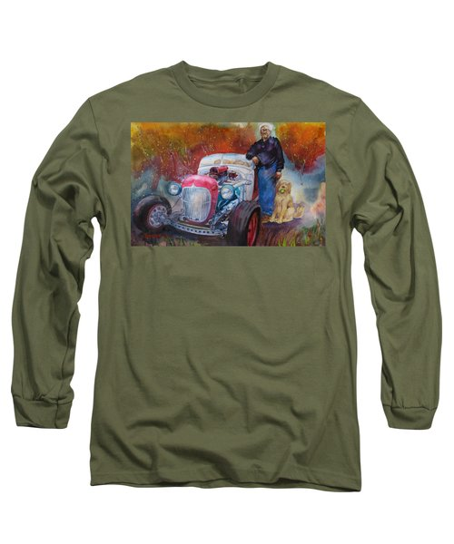 Charlie And Bella's Ride Long Sleeve T-Shirt