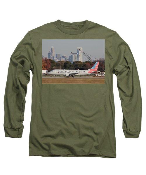 Charlotte Douglas International Airport 22 Long Sleeve T-Shirt
