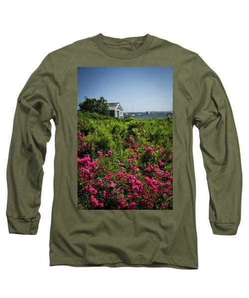 Chatham Boathouse Long Sleeve T-Shirt by Jim Gillen