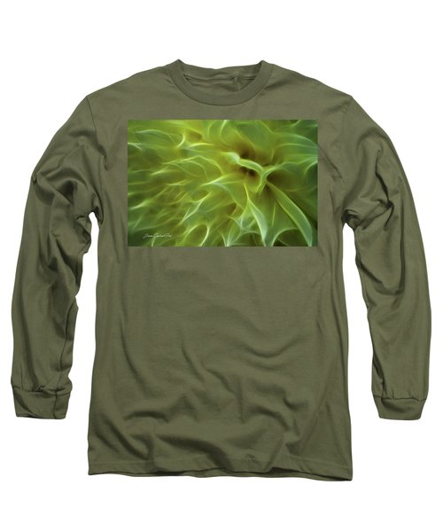 Cheery Chrysanthemum Long Sleeve T-Shirt by Joann Copeland-Paul