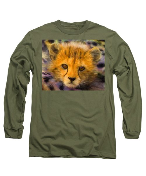 Cheetah Cub Long Sleeve T-Shirt