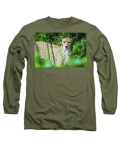 Cheetah Long Sleeve T-Shirt