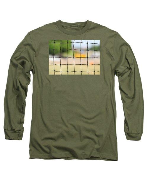 Chequered Present Bleak Future Long Sleeve T-Shirt by Prakash Ghai