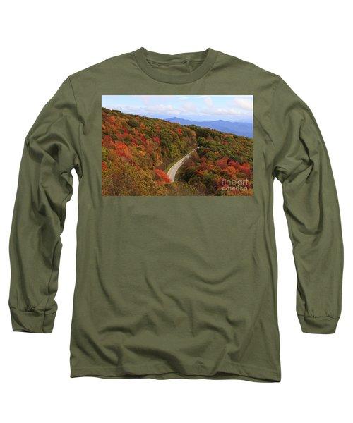 Cherohala Skyway In Nc Long Sleeve T-Shirt