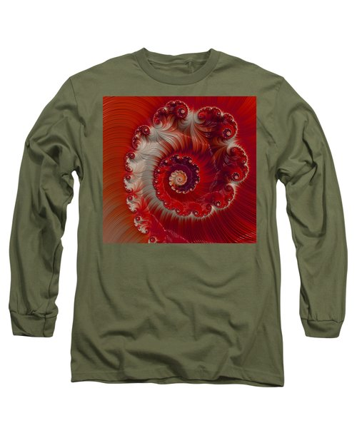 Cherry Swirl Long Sleeve T-Shirt