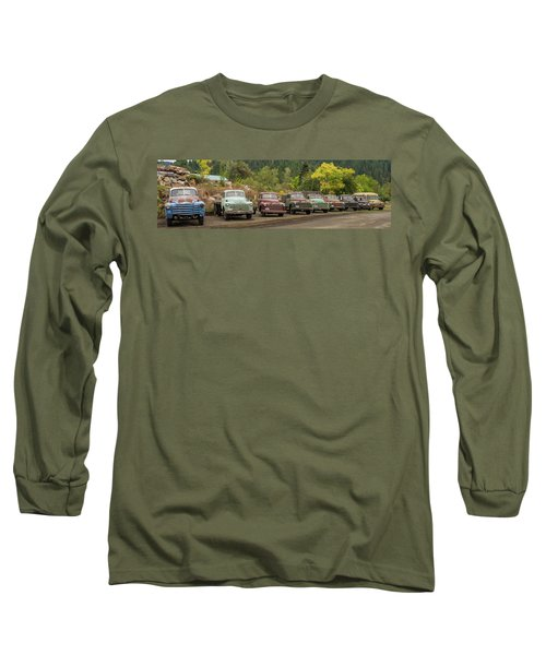 Chevy Line Up Long Sleeve T-Shirt