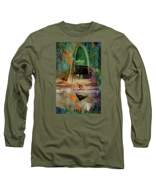 Chevy Tail Long Sleeve T-Shirt by Greg Sharpe
