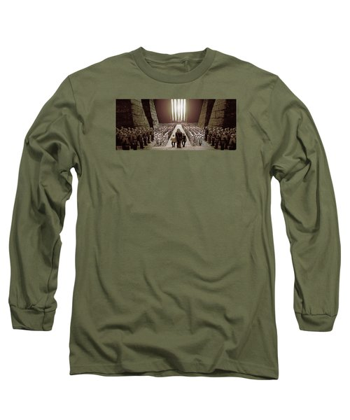 Chewbacca's March To Disappointment Long Sleeve T-Shirt by Kurt Ramschissel