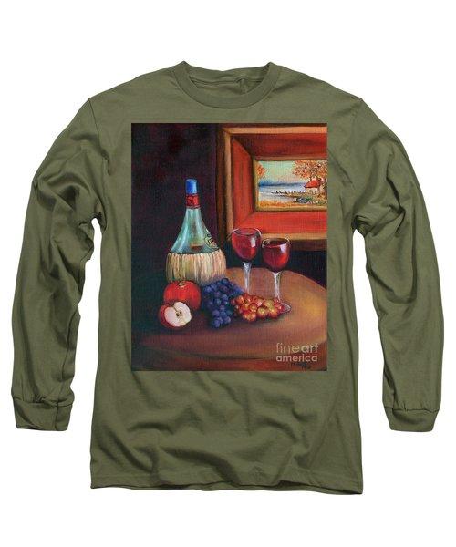 Chianti Still Life Long Sleeve T-Shirt