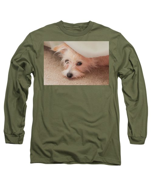 Chica In Hiding Long Sleeve T-Shirt