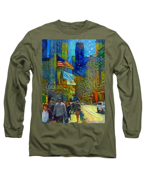 Chicago Colors 2 Long Sleeve T-Shirt