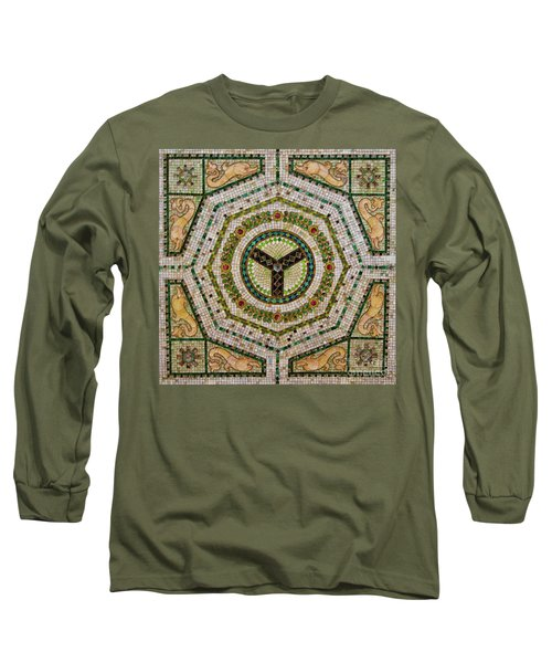 Chicago Cultural Center Ceiling Long Sleeve T-Shirt