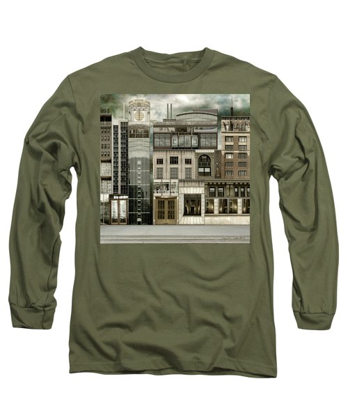 Chicago Reconstruction 2 Long Sleeve T-Shirt by Joan Ladendorf