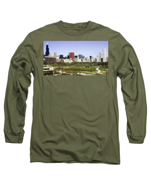 Chicago- The Windy City Long Sleeve T-Shirt