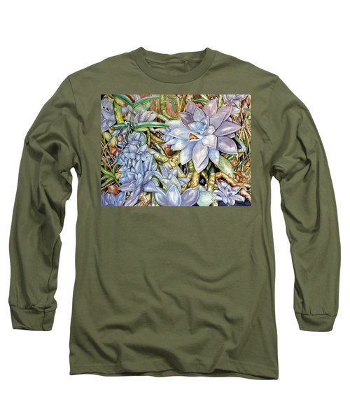 Chicks N Hens In Nature Long Sleeve T-Shirt