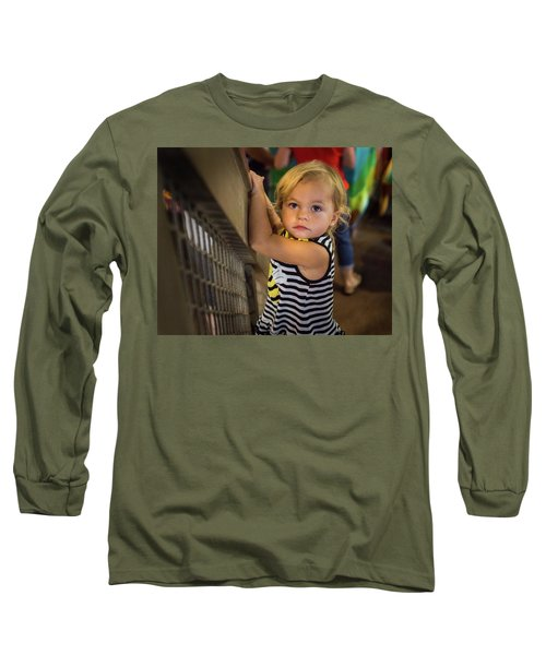 Long Sleeve T-Shirt featuring the photograph Child In The Light by Bill Pevlor