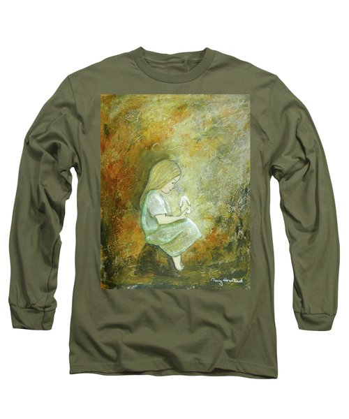 Childhood Wishes Long Sleeve T-Shirt by Terry Honstead