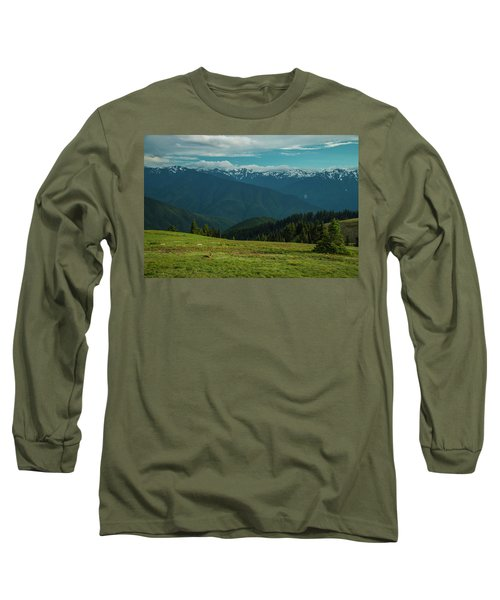 Chilling Out At Dusk Long Sleeve T-Shirt