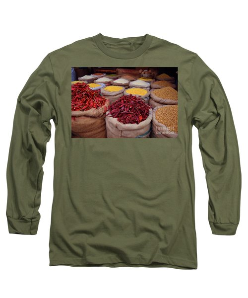 Chilliy Peppers Long Sleeve T-Shirt by Mini Arora