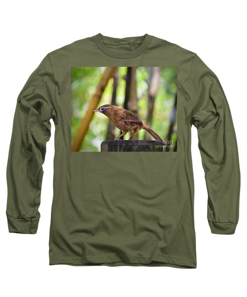 Chinese Hwamei  Edition 2 Long Sleeve T-Shirt