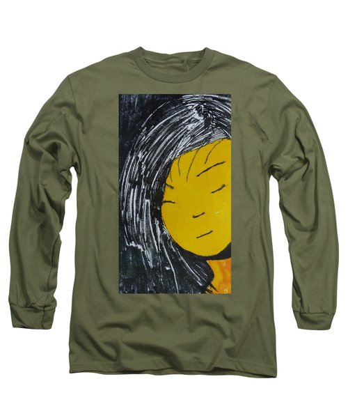 Chinese Japanese Girl Long Sleeve T-Shirt by Don Koester