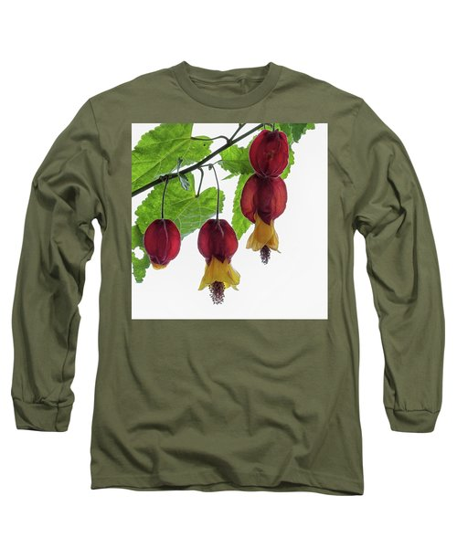 Chinese Lantern 4 Long Sleeve T-Shirt by Shirley Mitchell