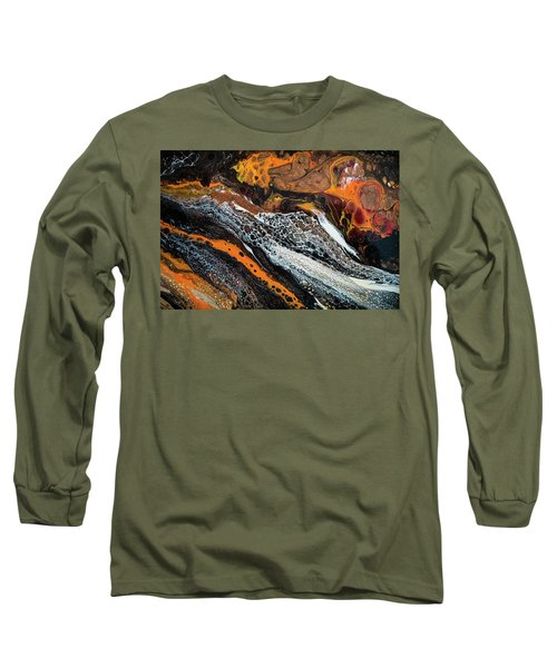Chobezzo Abstract Series 1 Long Sleeve T-Shirt by Lilia D