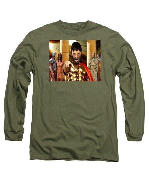 Choose  Long Sleeve T-Shirt by Mark Allen